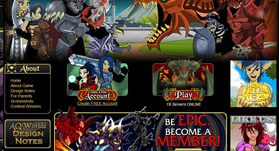 """MMORPG for free """"Adventure Quest World""""   Gaming"""